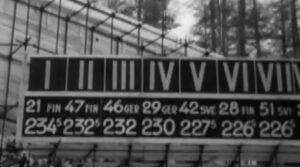 Cortina 1956: tabellone del salto